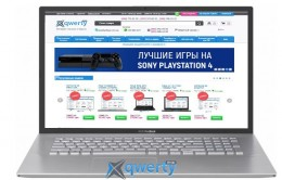 ASUS VivoBook 17 X712FB-BX182 (90NB0L41-M02020) Silver