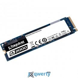 Kingston A2000 250GB NVMe M.2 2280 PCIe 3.0 x4 3D NAND TLC (SA2000M8/250G) купить в Одессе