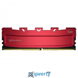EXCELERAM Kudos Red DDR4 3600MHz 8GB (EKRED4083618A)