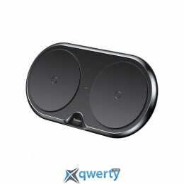 Baseus Dual Wireless Charger Black (WXXHJ-A01)