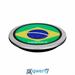 Momax Q.Pad Wireless Charger - Brazil World Cup Ed (UD3BZ)