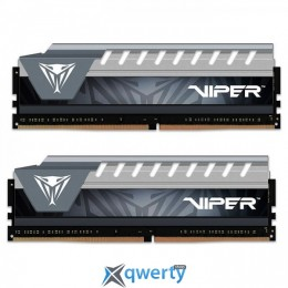 PATRIOT Viper Elite Black/Gray DDR4 2666MHz 16GB (2x8) (PVE416G266C6KGY)