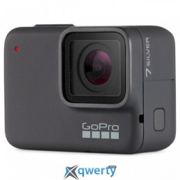 GOPRO Hero7 Silver Speciality Bundle w/SD Card (CHDSB-602)