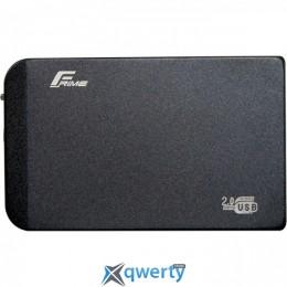 Frime SATA HDD/SSD Metal USB 2.0 Black (FHE60.25U20) 2.5