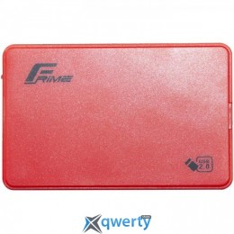 Frime SATA HDD/SSD Plastic USB 2.0 Red (FHE15.25U20) 2.5