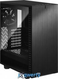 Fractal Design Define 7 Compact Dark Tempered Glass Black (FD-C-DEF7C-02)