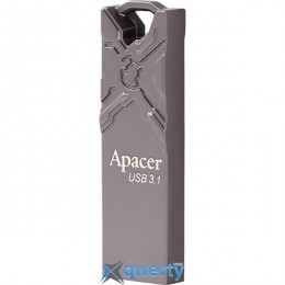 Apacer 32 GB AH15F USB 3.1 Metal Ashy (AP32GAH15FA-1)