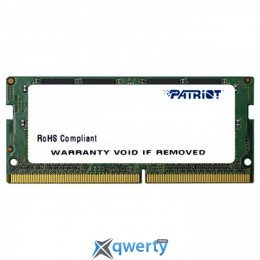PATRIOT Signature Line SO-DIMM DDR4 2400MHz 4GB (PSD44G240041S)