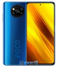 Xiaomi Poco X3 6/64GB Cobalt Blue (Global)