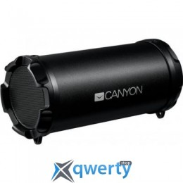 CANYON Portable Bluetooth Speaker Black (CNE-CBTSP5)