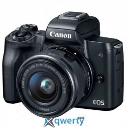 Canon EOS M50 + 15-45 IS STM Kit [+ 15-45 IS STM + 22 STM Double Kit Black](2680C055)