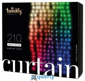Twinkly Smart LED CurtainWall RGBW 210 BT+WiFi Gen II IP44 кабель прозрачный (TWW210SPP-TEU)