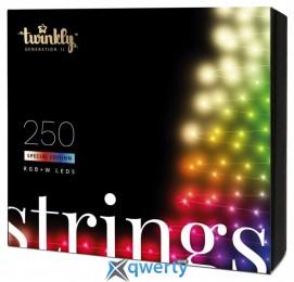 Twinkly Strings RGBW 250, BT+WiFi, Gen II, IP44, кабель прозрачный(TWS250SPP-TEU)