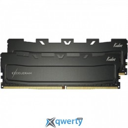 EXCELERAM Kudos Black DDR4 2400MHz 32GB (2x16) (EKBLACK4322415CD)