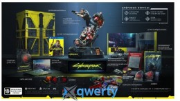 Игра Cyberpunk 2077. Коллекционное издание (PS4, Русская версия)