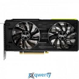 Palit PCI-Ex GeForce RTX 3060 Ti Dual 8GB GDDR6 (256bit) (1410/14000) (3 x DisplayPort, HDMI) (NE6306T019P2-190AD)