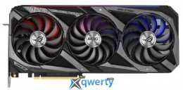Asus PCI-Ex GeForce RTX 3060 Ti ROG Strix Gaming OC 8GB GDDR6 (256bit) (1890/14000) (2 x HDMI, 3 x DisplayPort) (ROG-STRIX-RTX3060TI-O8G-GAMING)