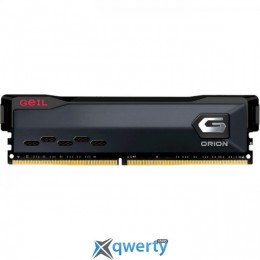 GeIL DDR4-3200 16GB PC4-25600 Orion Black (GOG416GB3200C16BSC)