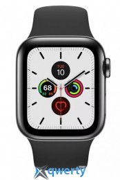 Apple Watch Series 5 LTE 40mm Space Black Steel w. Black b.- Space Black Steel (MWWW2) (MWX82)