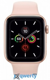 Apple Watch Series 5 LTE 44mm Gold Aluminum w. Pink Sand b.- Gold Aluminum (MWW02) (MWWD2)