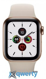 Apple Watch Series 5 LTE 44mm Gold Steel w. Stone b.- Gold Steel (MWW52) (MWWH2)