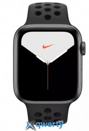 Apple Watch Series 5 Nike 40mm GPS + LTE Space Gray Case w. Anthracite/Black Nike B. (MX382) (MX3D2)