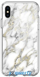 Spigen Cyrill Cecile Glossy Marble iPhone Xs (063CS24940)