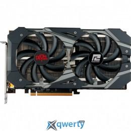 PowerColor PCI-Ex Radeon RX 5600 XT Red Dragon ОС 6GB GDDR6 (192bit) (1660/14000) (HDMI, 3 x DisplayPort) (AXRX 5600XT 6GBD6-3DHE/OC)