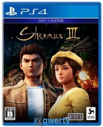 Shenmue 3 Day One Edition PS4 (английская версия)