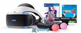 SONY PLAYSTATION VR BLOOD & TRUTH AND EVERYBODY S GOLF VR BUNDLE (CUH-ZVR2)