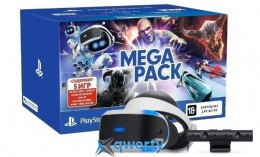 SONY PLAYSTATION VR END 5 GAME BUNDLE PACK (CUH-ZVR2)