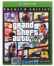 GTA V Premium Edition XBox One (русские субтитры)