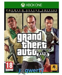 GTA V Premium Online Edition XBox One (русские субтитры)