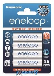 Panasonic Eneloop AA 1900 4BP mAh NI-MH (BK-3MCCE/4BE)