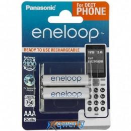 Panasonic Eneloop AAA 750 2BP mAh NI-MH (BK-4MCCE/2DE)