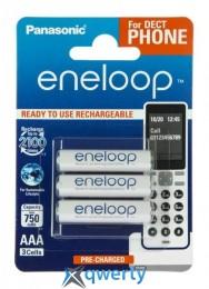Panasonic Eneloop AAA 750 3BP mAh NI-MH (BK-4MCCE/3DE)
