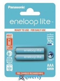 Panasonic Eneloop Lite AAA 550 2BP mAH NI-MH (BK-4LCCE/2BE)