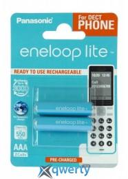 Panasonic Eneloop Lite AAA 550 2BP mAH NI-MH (BK-4LCCE/2DE)