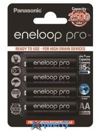 Panasonic Eneloop Pro AA 2500 mAh 4BP (BK-3HCDE/4BE)