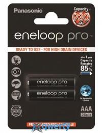 Panasonic Eneloop Pro AAA 930 mAh 2BP (BK-4HCDE/2BE)