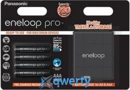 Panasonic Eneloop Pro AAA 930 mAh 4BP + Case (BK-4HCDEC4BE)