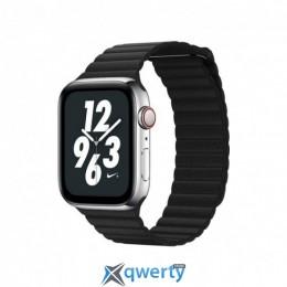COTEetCI W7 Apple Watch Fashion LEATHER 44mm Black (WH5206-BK)