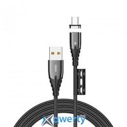 Joyroom Magnetic S-M408 microUSB 1.2m 3A Black RL058026
