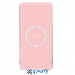 Power Bank Momax (IP85) Q.Power Slim Wireless 5000 mAh Pink
