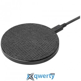 Native Union Drop Wireless Charger Fabric Slate (DROP-GRY-FB-V2)