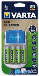 Varta LCD CHARGER+4xAA 2500 mAh (57070201451)
