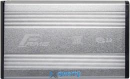 Frime для HDD SATA USB 3.0 Silver (FHE51.35U30) 3.5