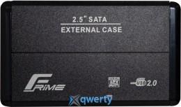 Frime для HDD/SSD SATA USB 2.0 Black (FHE20.25U20) 2.5