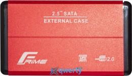 Frime для HDD/SSD SATA USB 2.0 Red (FHE23.25U20) 2.5