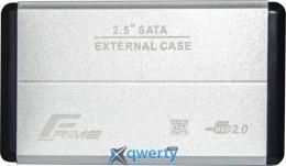 Frime для HDD/SSD SATA USB 2.0 Silver (FHE21.25U20) 2.5